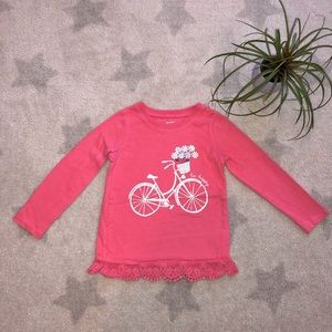 🎀Carter's Long Sleeve Coral Top🎀3T